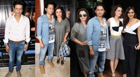 Kangana, Farah, Manoj, Neha Sharma at Shirish Kunder's Kriti premiere