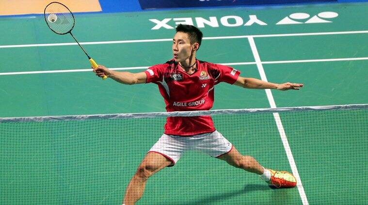 Lee Chong Wei suffered the injury on the way to claiming his sixth Indonesian Open. (Source: Express Photo)