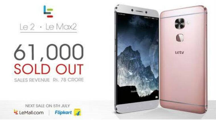 LeEco, LeEco Le 2 sale, LeEco Le Max 2 sale, LeEco Le 2 Flipkart sale, LeEco Le Max 2 flipkart sale, LeEco Le 2 specifications, smartphones, android, mobiles, tech news, technology