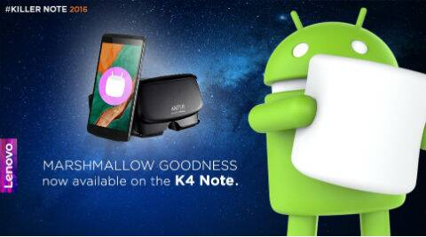 lenovo, lenovo K4 note, Android Marshmallow, Android M update for K4 note, Ant Vr headset lenovo, Lenovo K4 Note Amazon, how to get Android M for K4 note, smartphones, Andoid, technology, technology news