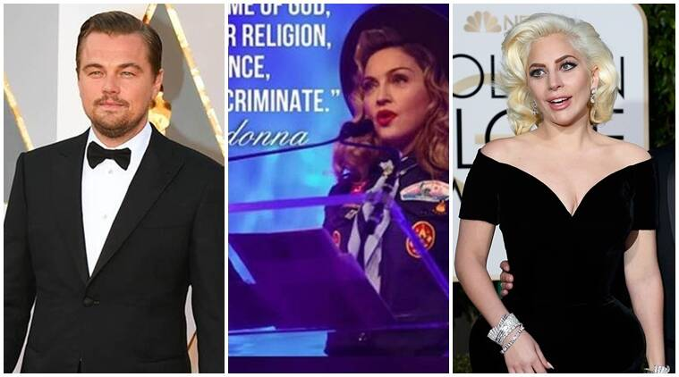 Leonardo DiCaprio, Madonna, Kim Kardashian, Lady Gaga and Ellen DeGeneres among other Hollywood celebrities took to social media to send their love and condolences for the victims of the mass shooting at a gay nightclub in Orlando.