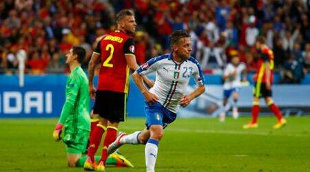 Euro 2016, Italy beat Belgium 2-0 in Lyon: As it happened