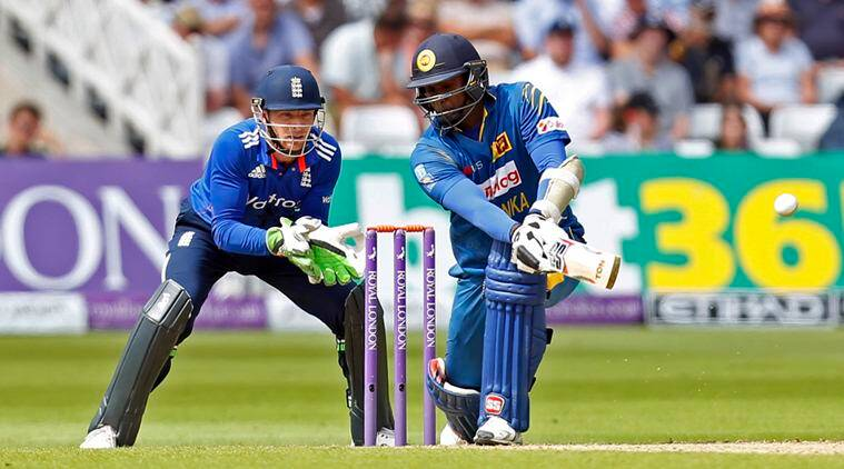 England Vs Sri Lankast Odi England Steal Game From Sri Lanka In Thrilling Tie With Last Ball Six The Indian Express