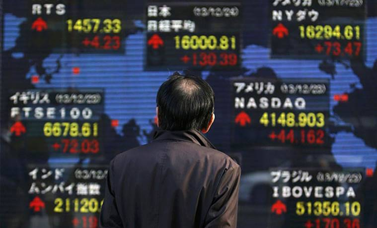 nikkei, bank of japan, japan markets, nikkei drops, nikkei shares drop, bank of japan policy meeting, japan stock exchange