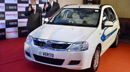 Mahindra launches its first electric sedan 'eVerito'