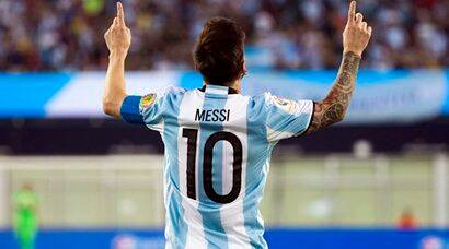Lionel Messi's glorious moments in Argentina kit