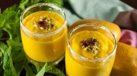 Begin your week with this delicious mango milkshake recipe