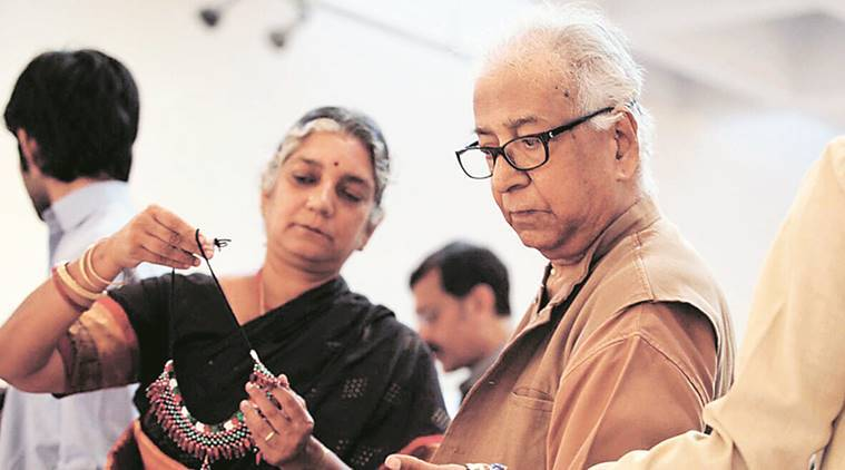 K G Subramanyan, rip K G Subramanyan, K G Subramanyan passes away, sculptor passes away, painter, artist passes away, indian express news, india news