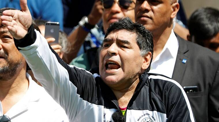 Diego maradona, Maradona, Argentina, Argentina football, Argentine football league, Argentine Primera League, Argentina top tier, Argentina football super league, FIFA, FIFA president Gianni Infantino, Gianni Infantino, Sepp Blatter, Argentina Football association, Football news, Sports news