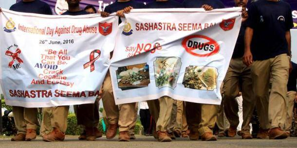 International Drug Abuse Day, International Day against Drug Abuse and Illicit Trafficking, 26th June, international drug abuse day march, march at india gate, march against drug abuse at india gate, drug abuse march at india gate, drug abuse youth march, india gate march, delhi news, ncr news