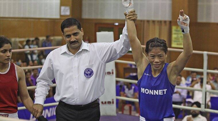 Boxer MC Mary Kom can still get entry in Rio 2016 Olympics. (Source: Express Photo)