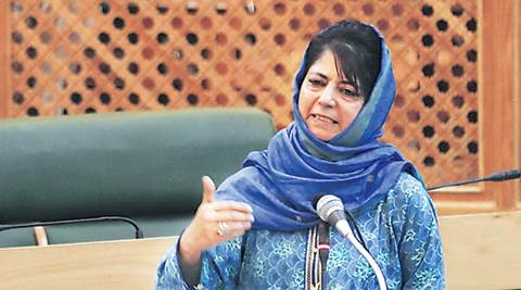 Mehbooba mufti, militancy kashmir, j&k militancy, cm mehbooba mufti, pdp-bjp, Kashmir, security camps Kashmir, bunkers in Kashmir, bunkers removed, security camps removed, Mehbooba on bunkers, Mehbooba on security camp, BJP-PDP, National Conference, Congress