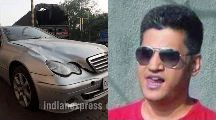 32-year-old Siddharth Sharma was hit by a speeding mecedes car
