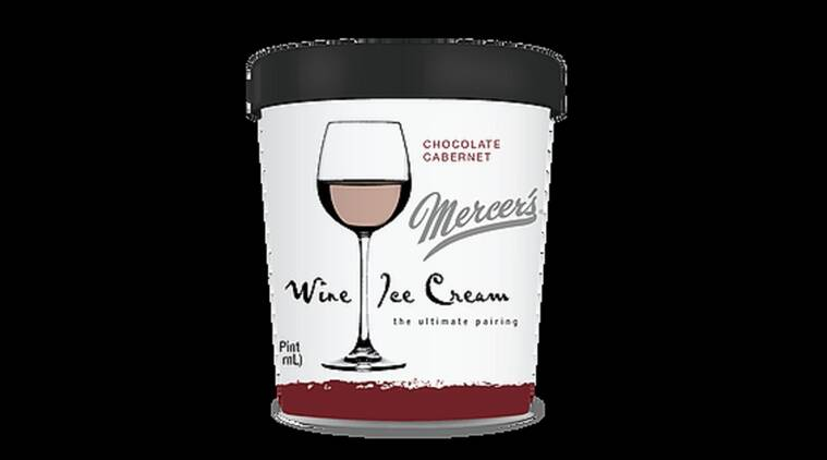 Chocolate ice cream and Cabernet in one scoop. (Source: Mercer's)