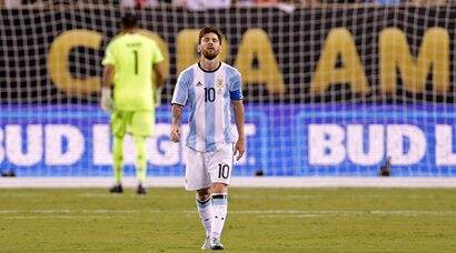 Messi retires from international football