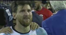 Messi Quits, Cries: So What?