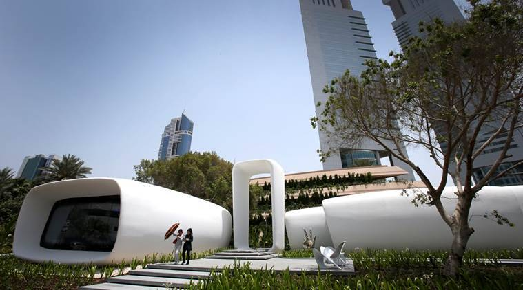 D Printing Exhibition Uae : Say hello to dubai s new d printed office the indian