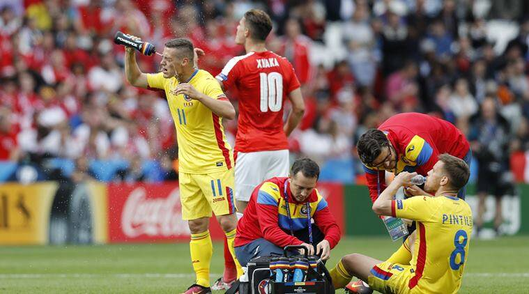 Euro 2016, Euro, Romania vs Switzerland, Switzerland vs Romania, Mihai Pintilii, Pintilii, Pintilii injury, Pintilii Euro 2016 injury, Romania , Romania Pintilii, Football
