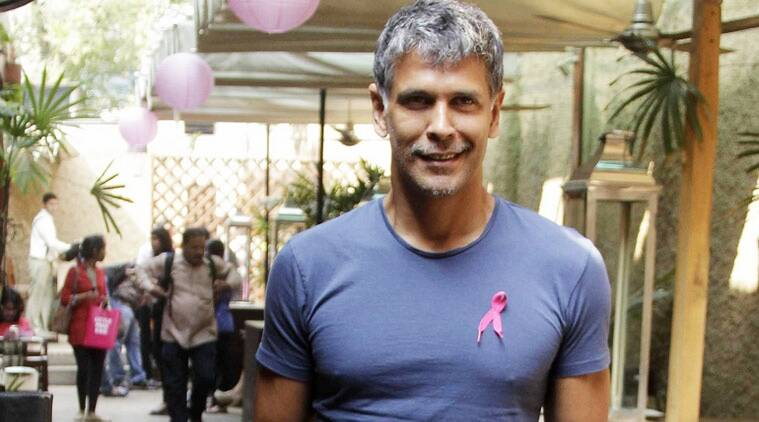 Milind Sonam was in New Delhi on June 9 to launch the fourth edition of Pinkathon Empowering Indian Women.