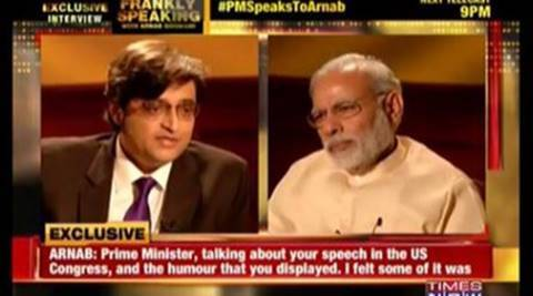 modi interview, times now, arnab goswami, arnab modi interview, arnab goswami modi interview, Arnab Goswami-Modi full interview, Full interview, Times now full interview, modi first interview, modi tv interview