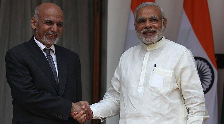 india, afghanistan, india afghanistan, india afghan security, afghanistan india security partnership, security partnership, ashraf ghani, afghan pakistan, pakistan india afghanistan, pakistan army, ghani in india, ghani visit india, post partition geography, durand line, rawalpindi, kabul, modi government, indian express opinion