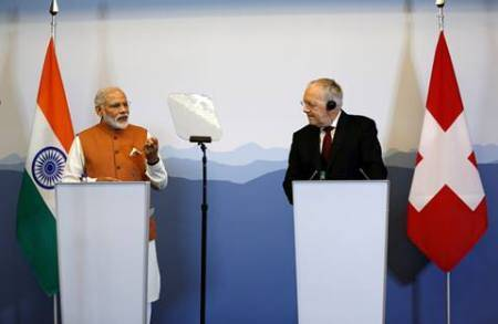 Narendra Modi, PM Modi, Modi in Switzerland, black money, tax evasion, NSG, Swiss President Johann Schneider-Ammann, India-Swiss relations,
