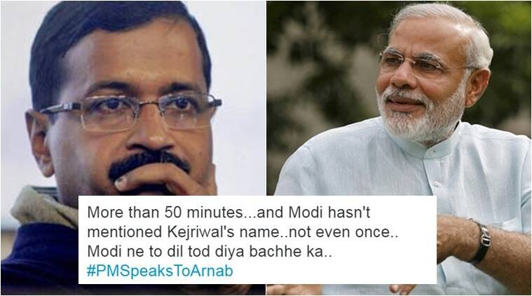 Modi didn't mention Kejriwal even once