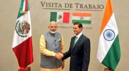 PM Modi arrives in Mexico, holds restricted level talks with President Enrique Peña Nieto