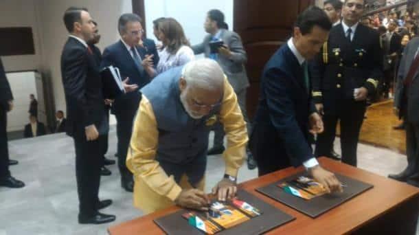 Modi, Narendra Modi, Modi Mexico, India, Nuclear Suppliers group, NSG, Mexico Modi, Enrique Peaa Nieto, NSG, Nuclear Suppliers Group, Los Pinos, india news, mexico news, modi five nation tour, modi news, modi mexico photos, latest news
