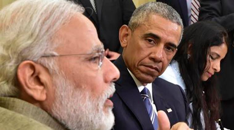 Narendra Modi, Barack Obama, Modi in US, MOdi, PM Modi, Obama, US president barack obama, Indo-US, India-US ties, India-US relations, India-US relationship, Indo-US ties, White house, Climate, Climate change, Indo-US climate deal, india news