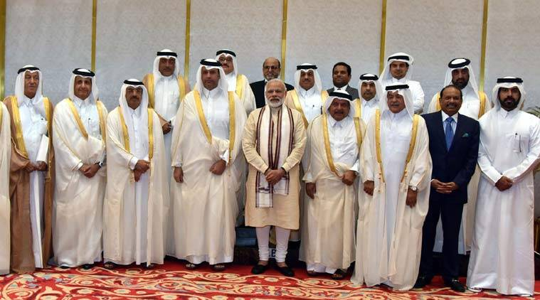 narendra modi, Qatar, modi qatar, modi in qatar, modi five nation tour, modi qatar business delegation, modi qatar business, modi qatar investment, qatar news, india news, modi news, latest news