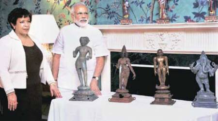 Narendra modi, modi in US. Modi US visit, indian artifacts in US, indian stolen artifacts, US artifacts, stolen indian artifacts, barack obama, Indo US relations