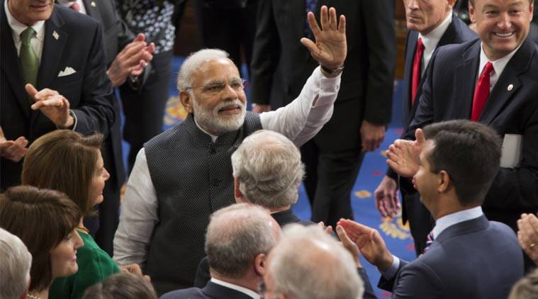 Narendra Modi, US congress, Modi US congress, modi us congress speech, modi congress us, modi speech live, Modi speech text, modi news, live modi us congress, india news