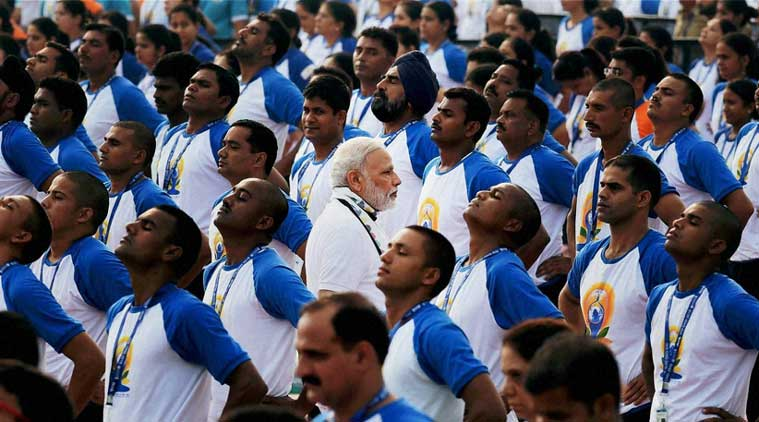 yoga day, narendra modi, capitol complex, capitol complex independence day award, international yoga day, yoga day india, Chandigarh, Chandigarh yoga day, latest Chandigarh news