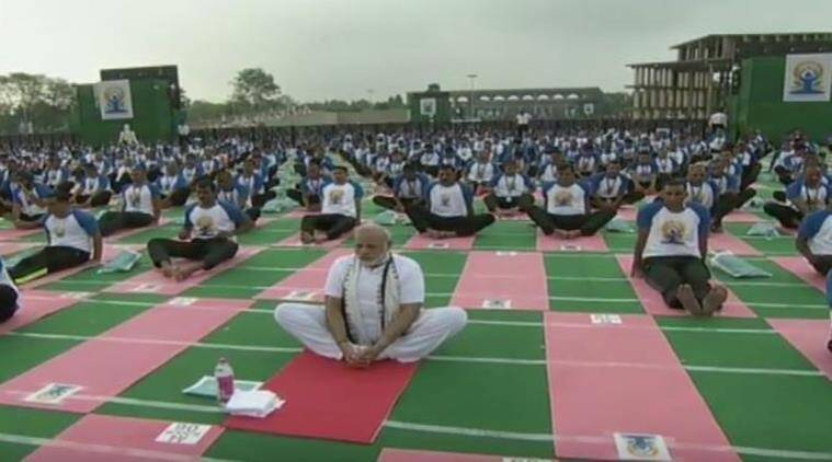 international yoga day, international yoga day live, international yoga day 2016, international yoga day 2016 live, Narendra Modi Yoga, international yoga day 2016 chandigarh, international yoga day chandigarh live, international yoga day, international yoga day modi, yoga day 2016, yoga day, yoga day modi, yoga day 21 June, yoga day date, yoga day preparations, world yoga day 2016, world yoga day, chandigarh news