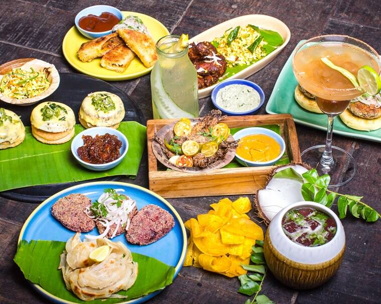 Indian coastal food in a fusion avatar at Monkey Bar. (Photo: Supratim Ghosh)