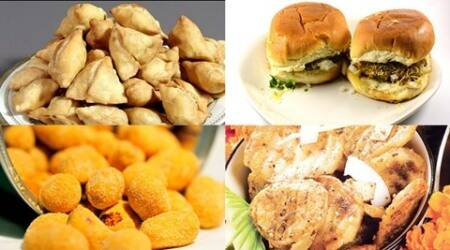 Monsoon snacks, monsoon food, snacks for monsoon, monsoon snacks recipes, Express recipes, dabeli, samosa, kachori, masala peanuts, aloo tikki, rice papdi