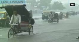 Cities Get Drenched In Pre-Monsoon Showers