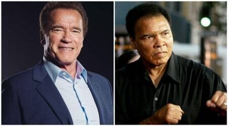 Arnold Schwarzenegger remembers his idol Muhammad Ali