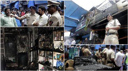 Andheri: Unable to escape fire, nine of a family succumb