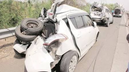 mumbai, mumbai accidents, accidents in mumbai, mumbai pune expressway accident, mumbai police, indian express mumbai