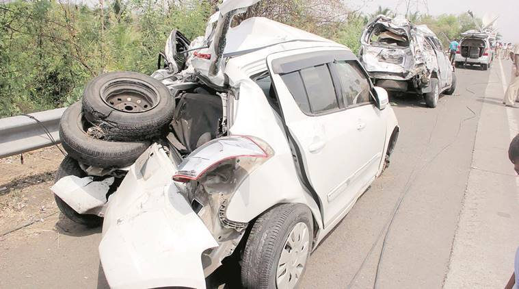 mumbai accidents, mumbai pune accidents, mumbai police, list of accident spots,  blackspots, crash analysis unit, indian express news, mumbai news