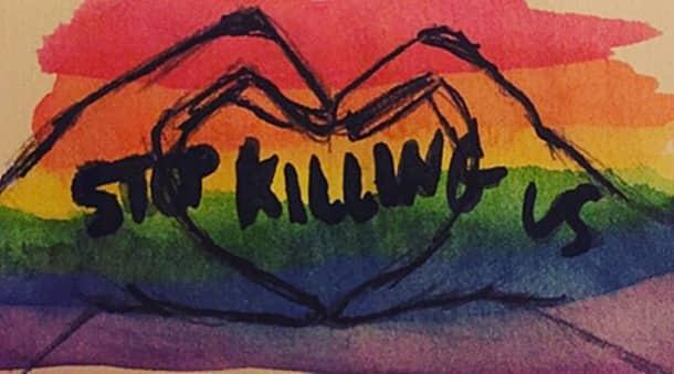 Orlando shooting, Orlando mass shooting, Orlando nightclub shooting, #Orlando, #OrlandoNightclubShooting, Pulse gay nightclub, social media art, Tumblr, Instagram