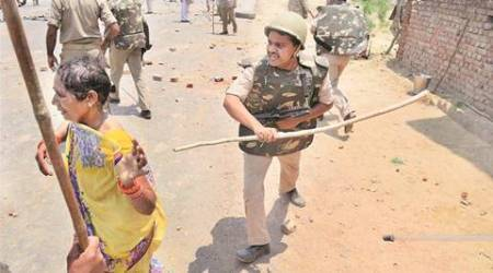 Murders in shootout outside Naini jail: Villagers clash with police, ASP among 4 copsinjured