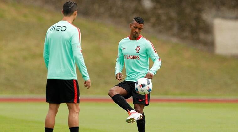Nani is playing in his third European Championship since making his senior international debut in 2006.(Source: Reuters)