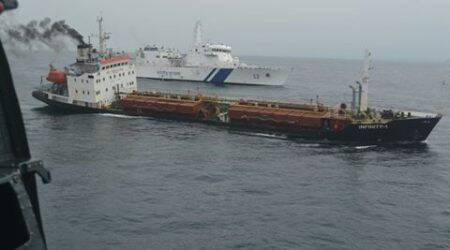 Navy, Coast Guard assist merchant navy ship off Goa coast