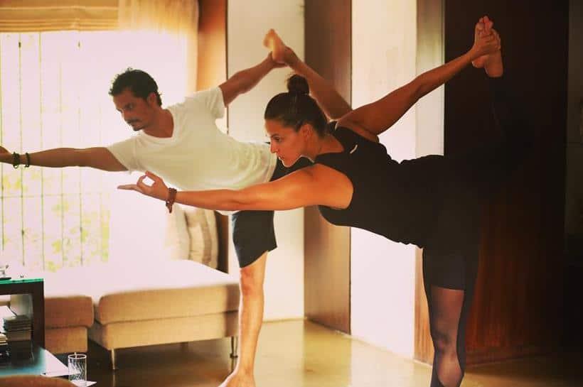International Yoga Day, International Yoga Day 2016, Bipasha Basu, Karan Singh Grover, Bipasha Karan, Bipasha Karan Yoga, Malaika Arora Khan, Sofia Hayat, Bipasha Basu Yoga, Malaika Arora Khan yoga, Sofia Hayat yoga, Neha Dhupia, Deepika Singh, Diya aur baati Hum, Kavita Kaushik, International Yoga Day pics, International Yoga Day celebs pics