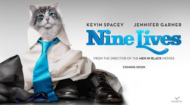 Nine Lives, Nine Lives Kevin Spacey, Kevin Spacey, Nine Lives in india, Nine Lives latest news, Jennifer Garner, Robbie Amell, Malina Weissman. entertainment news