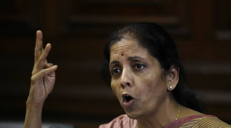 nirmala sitharaman, sitharaman, commmerce minister, fdi in defence, defence investment, fdi, foreign direct investment, india news