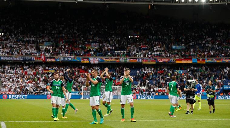 Northern Ireland Through Despite Germany Defeat